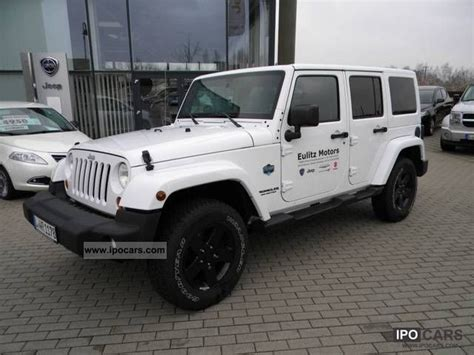 2012 Jeep Wrangler Limited 2012 Jeep Wrangler Unlimited Arctic Limited Sondermod