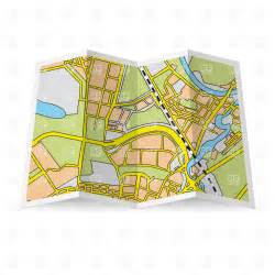 map clipart abstract folded paper city map vector clipart image 28501