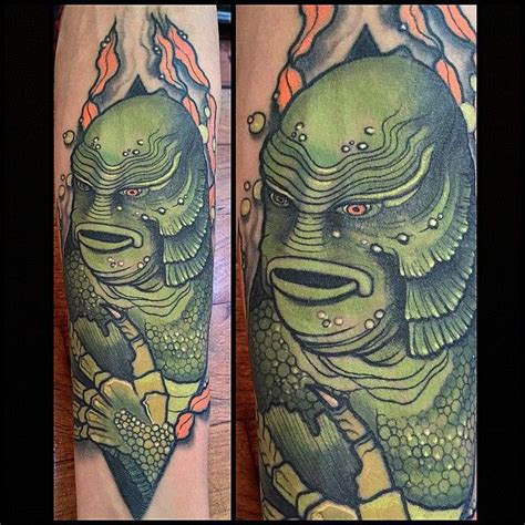 creature from the black lagoon tattoo 44 best characters images on my