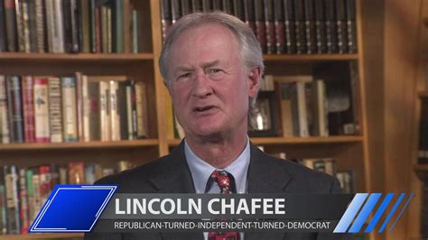 republican turned independent former u s senator jeffords republican turned independent lincoln chafee on why