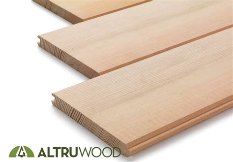 Wood Beadboard Planks - douglas fir flooring altruwood