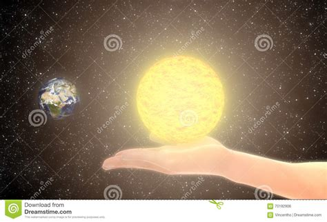who created the first light let there be light stock illustration image 70192906