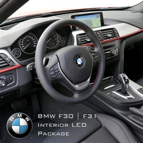 bmw interior led bmw 3 series f30 f31 complete interior led pack