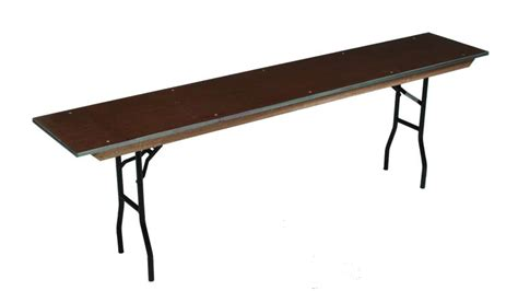 24 x 96 folding table midwest folding products 24 quot x 96 quot steel edge stained