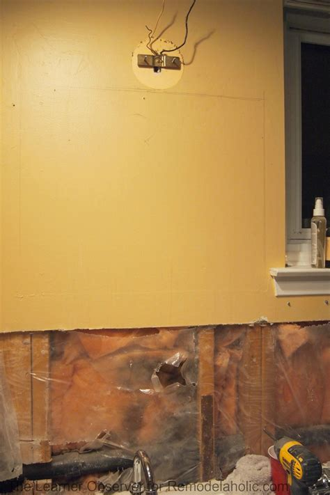 how to install a medicine cabinet on drywall remodelaholic how to install a recessed medicine cabinet