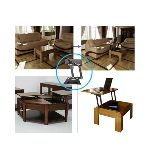 Furniture Design Hydraulic Table Lifting Mechanism Spring Pop Up Coffee Table Mechanism