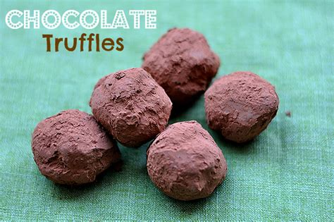 Handmade Chocolate Truffles Recipe - handmade chocolate truffles recipe our ordinary