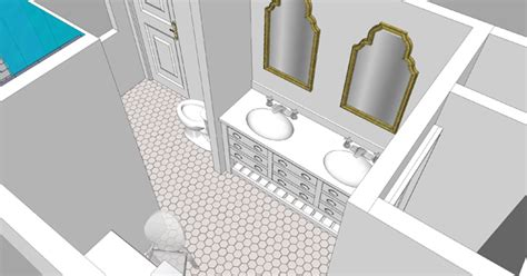 bathroom with 2 entrances sarah m dorsey designs master bath plans my design