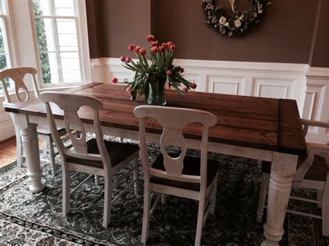 Farm Style Dining Room Tables Traditional Farmhouse Style Dining Table Ideas 4 Homes