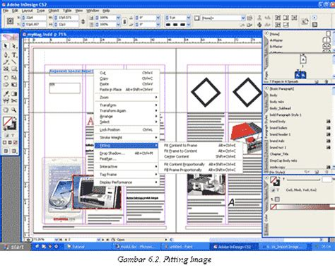 tutorial layout koran belajar adobe indesign tutorial gratis dot net