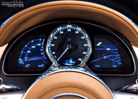 bugatti chiron top speed bugatti chiron 未來極速衝至 458km h 香港第一車網 car1 hk