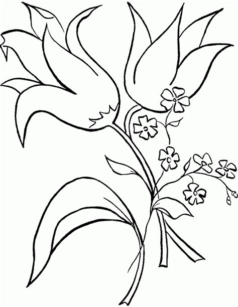 coloring page of vase with sunflowers flower tropical flower coloring pages sunflowers in a
