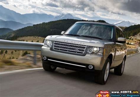 kereta range rover refreshed range rover models for 2010