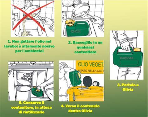 associazione alimentare per il turista smaltimento degli oli alimentari esausti