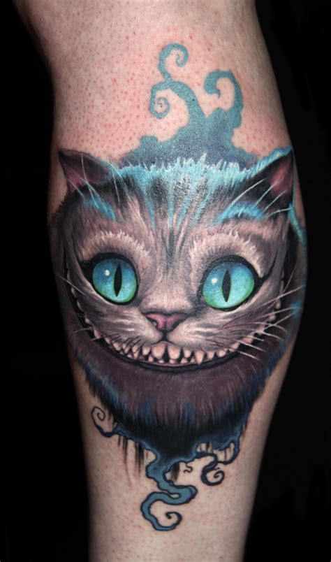 cheshire cat tattoo take a walk in with these cheshire cat tattoos