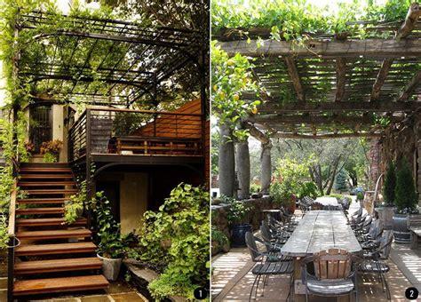 imagenes jardines terrazas exteriores con plantas patios terrazas jardines