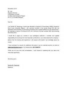Request letter for internship in a company