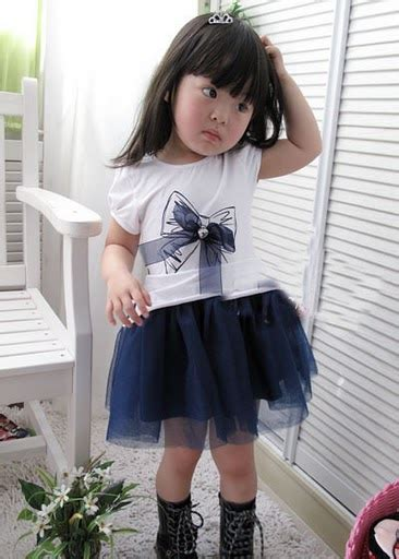Imported Korean Laceca Dress gummy berry lace bow 2 dress imported directly