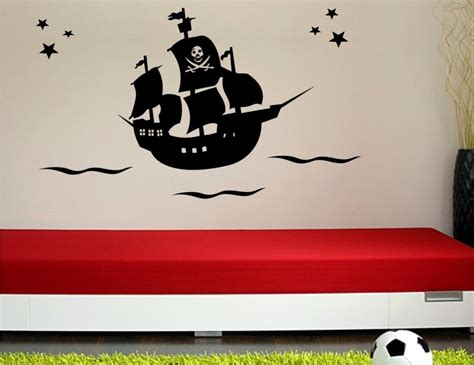 wandtattoo kinderzimmer piratenschiff wandtattoo piratenschiff 327 wandsticker wandtattoos