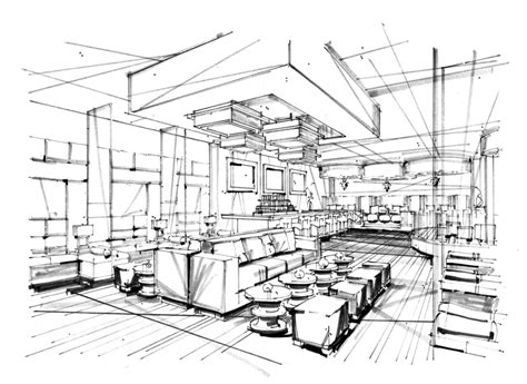 interior sketch i rendering architectural rendering perspective design