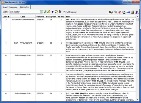 Exle Of Data Analysis In Research by Qda Miner Qualitative Analysis Software Features