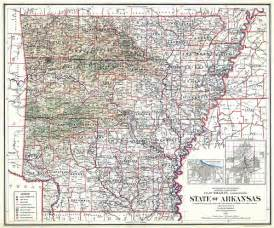Arkansas State Map by Arkansas State Map 1914 A Photo On Flickriver