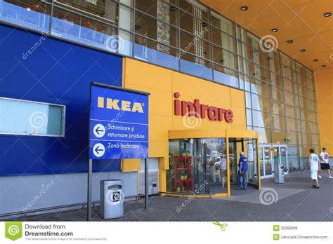 ikea stock entrance to ikea bucharest editorial stock image image