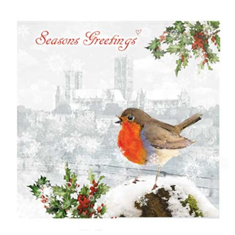 robin  lincoln christmas card  cards  buy unique cards   occasions