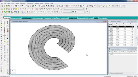 pattern a sketch in creo staad pro tutorials analysis design of rcc sprial