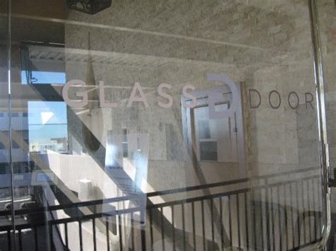 the glass door restaurant san diego entrance and signage picture of the glass door