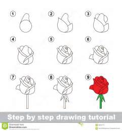 How To Draw Step By Step Drawing Tutorial How To Draw A Stock Vector Image