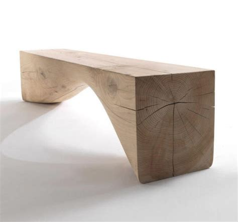 Home Decor Directory curve bench riva 1920 wood furniture biz