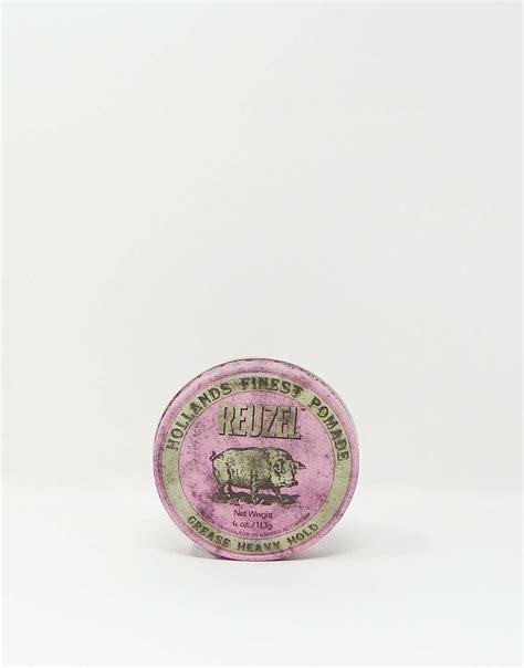 Pomade Reuzel Pink reuzel grease heavy hold pink 340g pomade neu original