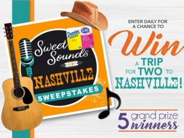 domino sugar sweet sounds of nashville sweepstakes - Domino Sugar Nashville Sweepstakes