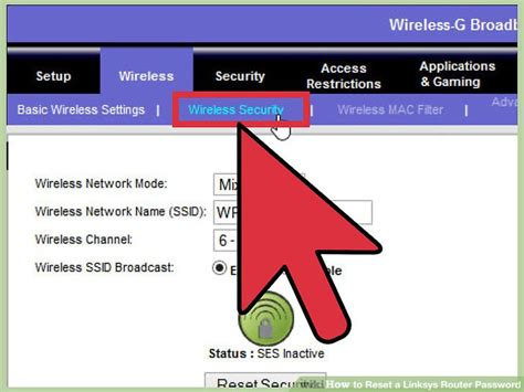 resetting wifi password linksys 5 ways to reset a linksys router password wikihow