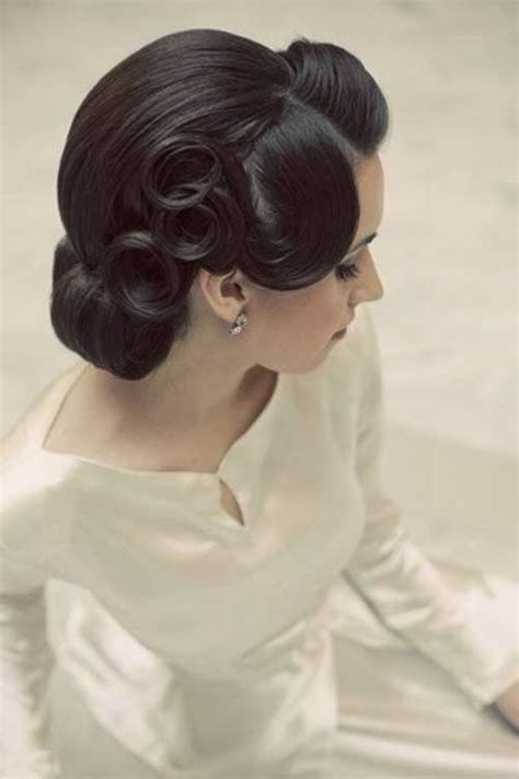Wedding Hair Updo Vintage by 15 Updos For Hair Hairstyles 2016 2017