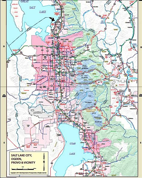 salt lake city map salt lake city legacy parkway a green solution for seattle gridlock quot smart growth quot and