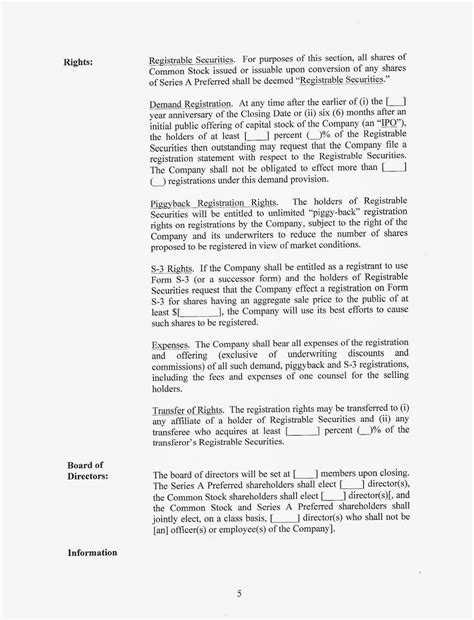 Letter Of Intent Venture Capital letter intent loi appointment offer tpss expansion