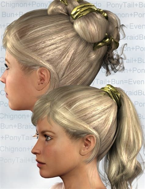 haircuts studio express elite hair addition hairstyles 3d models and 3d software by daz 3d