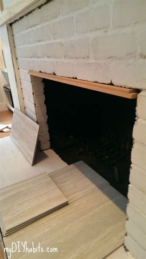 How To Clean Fireplace Brick And Mortar by 17 Best Ideas About Fireplace Refacing On