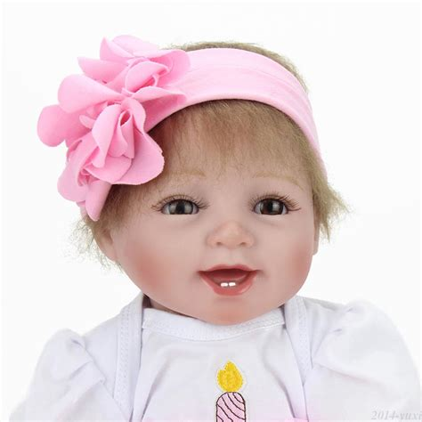 Handmade Baby Doll - handmade lifelike baby doll 22 quot silicone vinyl reborn