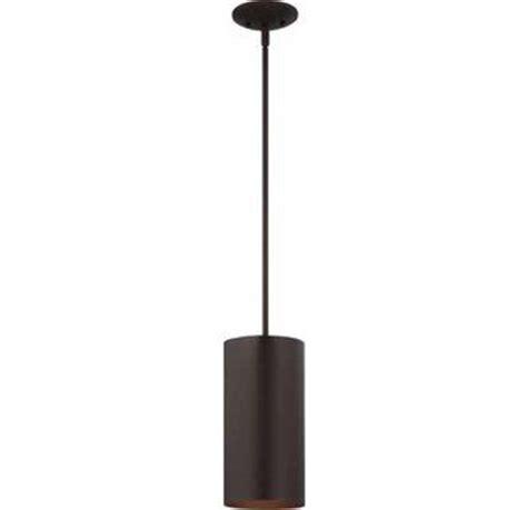 black cylinder pendant light volume lighting v9606 79 antique bronze 1 light outdoor 12