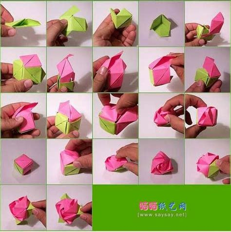How To Make Easy Paper Flowers For Children - how to make origami flower easy origami for