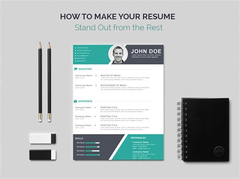 how to make your resume stand out from the rest a useful guide wp