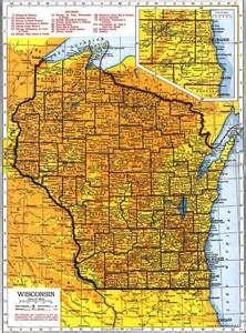 Map Wisconsin by Wisconsin Maps Wisconsin Digital Map Library Table Of