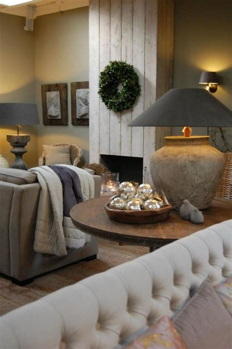 Living Room Thesaurus - modern country style how to create belgian style with texture