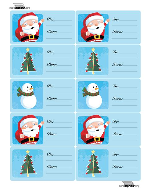 etiquetas de navidad para imprimir etiquetas para los regalos christmas gift tags
