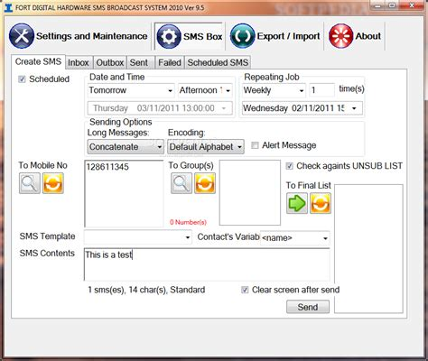 Bulk Sms Broadcast Singapore Auto Mass Sms Sms - fort digital hardware sms broadcast system 2010