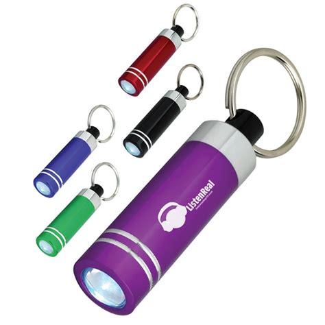 key ring lights promotional mini aluminum led light with key ring