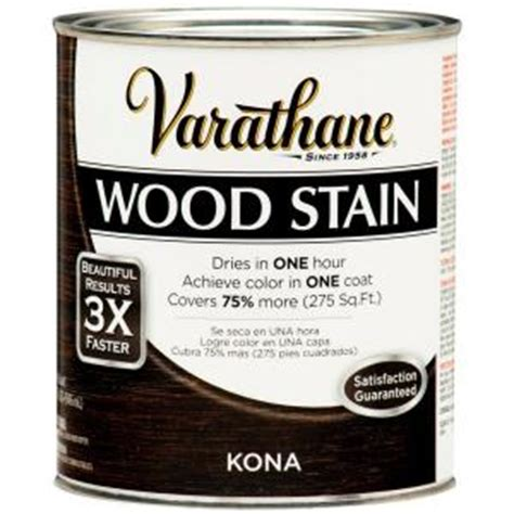 varathane 1 qt kona premium wood stain 266161 the home
